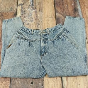 PS Gitano Vintage Acid Washed Denim Jeans 16 Short